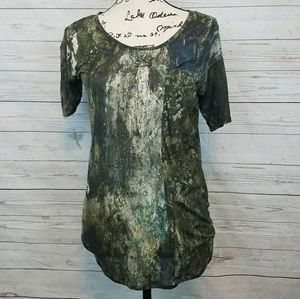 Helmut Lang Army Green Top